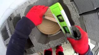 Jak wybudować dom - komin systemowy według instrukcji