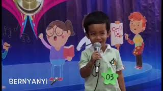 Talent Show di Sekolah Keira Juara 1... 🤗🥰