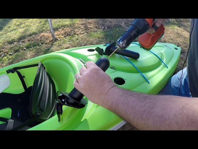 New Kayak Modifications Pt. 1