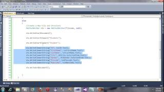 ASP.NET: How to Use XML in ASP NET Part 1 - Tutorial 23