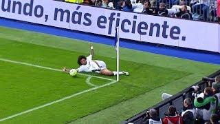 شاهد عندما يستلم اللاعب الكرة بطريقة خرافية | كنترول مارسيلو ادهش العالم..!!