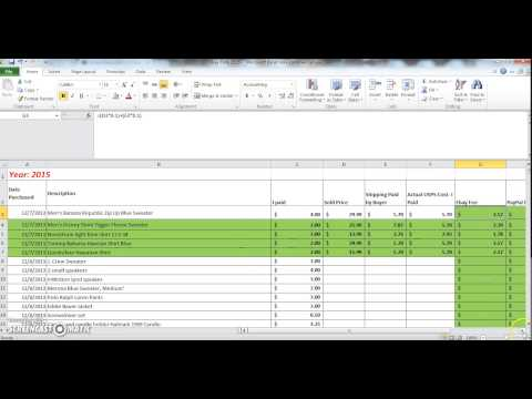 eBay Accounting and Bookkeeping Made Easy! Tips and Techniques