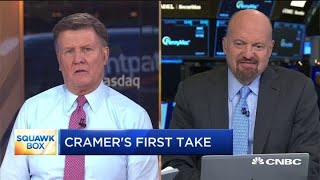 Jim Cramer warns media: 'China is the enemy' on trade not Trump