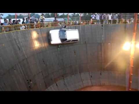 WALL OF DEATH IN KERALA, COCHIN (WELL OF DEATH).