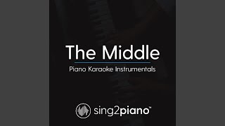 The Middle (Lower Key - Originally Performed by Zedd, Maren Morris & Grey) (Piano Karaoke Version)
