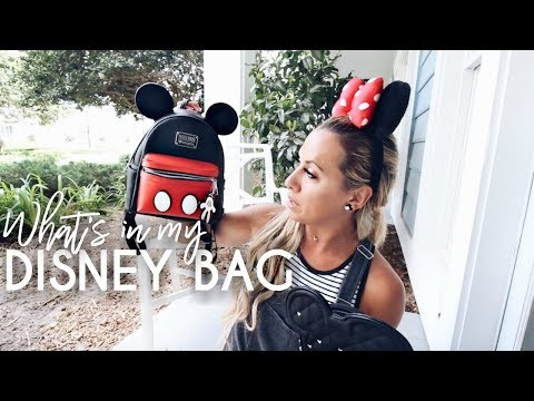 What's in My Disney Bag | Disney Park travel tips