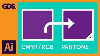 CMYK / RGB to Pantone | Converting colours in Adobe Illustrator