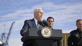 Vice President Pence Visits the Port of Baltimore