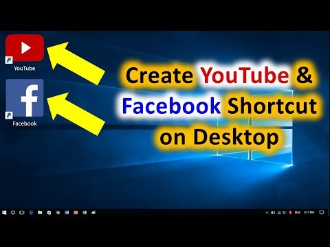 How To Create Facebook Shortcut On Desktop