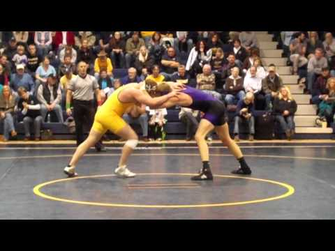 Wrestling - Lance Peters overtime victory vs. Minnesota Stat