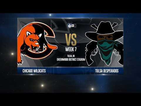 W18 Season, Week 7 - Chicago @ Tulsa