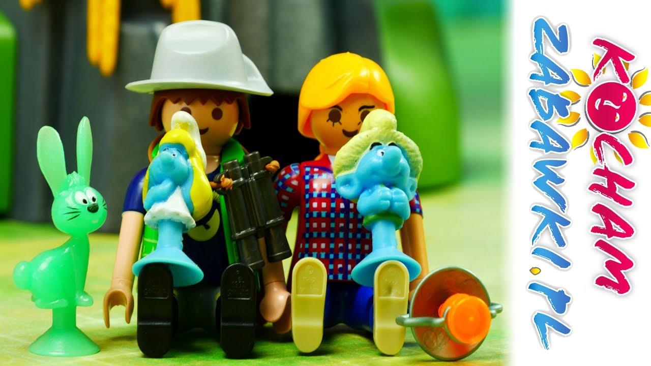 Playmobil & Stikeez Smerfy – Wyprawa – Bajki dla dzieci