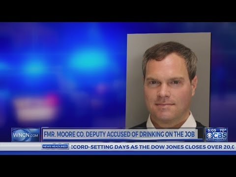 Son of Moore County sheriff charged with driving patrol vehicle after drinking alcohol
