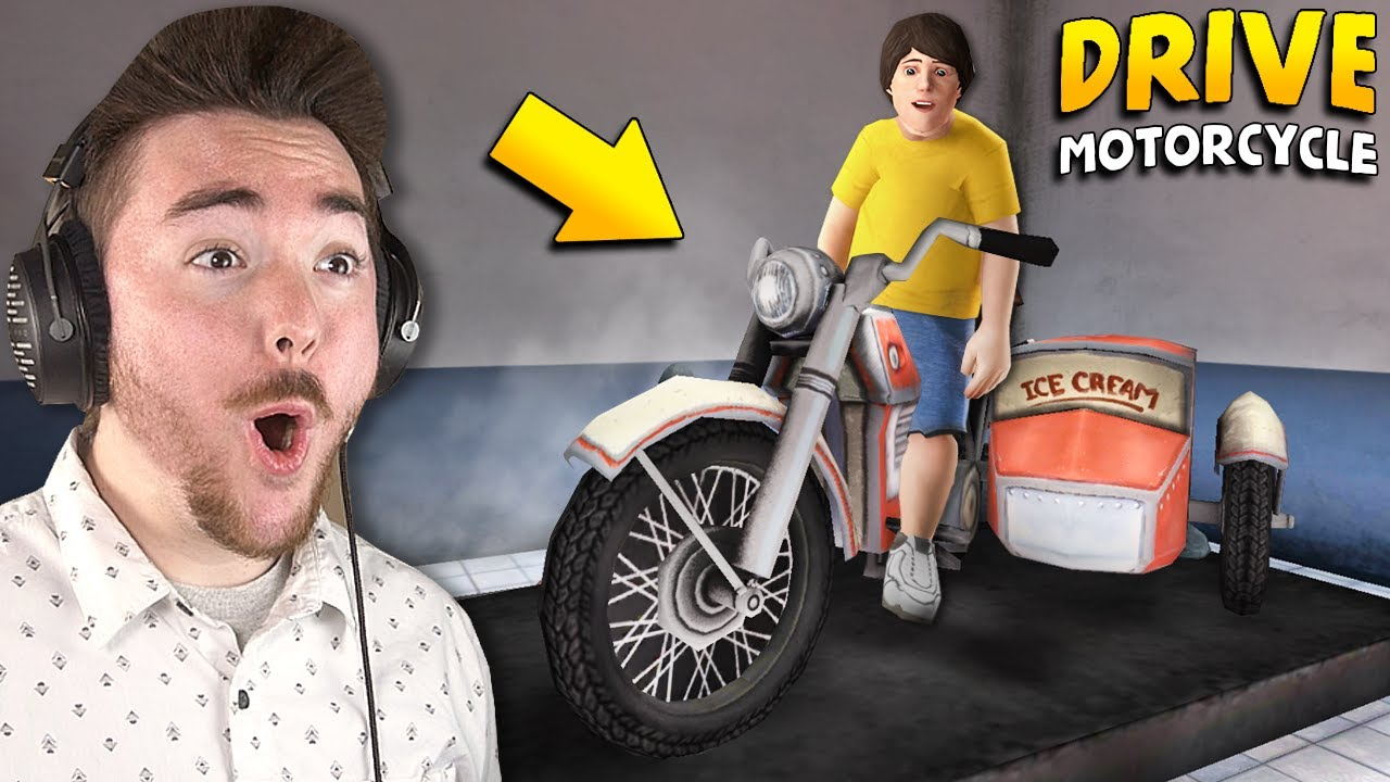 DRIVING THE MOTORCYCLE!!! | Ice Scream 4 Gameplay (Mods)