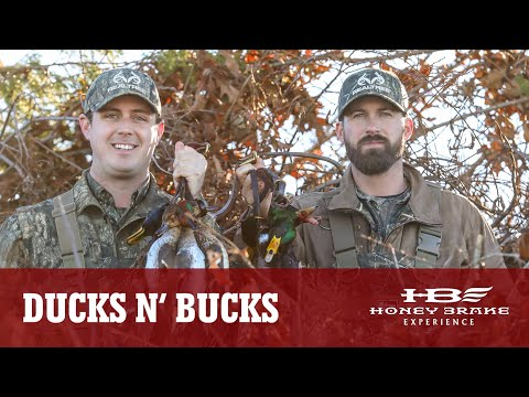 Ducks N' Bucks - Riley Green And Tyler Jordan Take Over Honey Brake