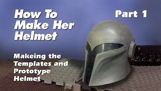 How to make a Sabine Wren Helmet (Step by step guide) Part 1