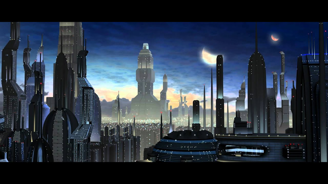 Diablo Hd Wallpaper Matte Painting Ville Futuriste Youtube