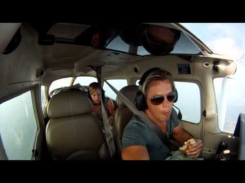 Cessna 172SP Flight from Chicago Executive Airport to Traverse City Michigan