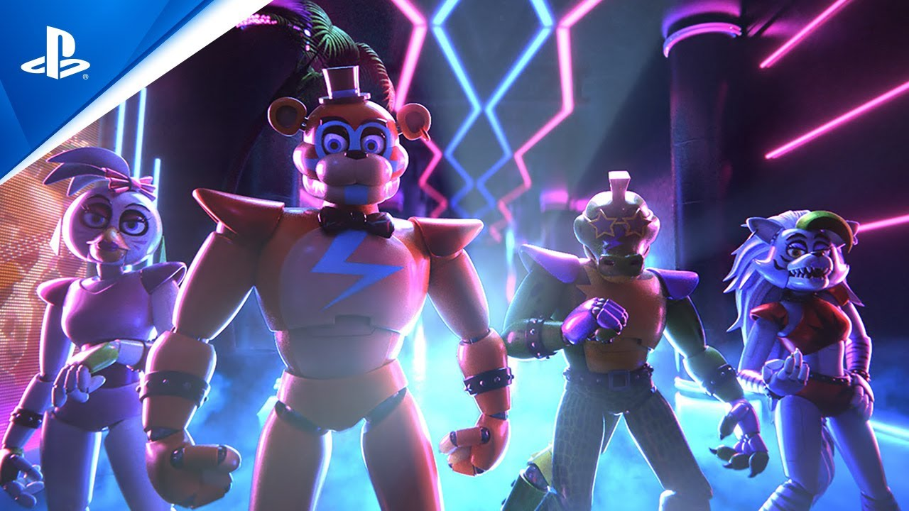 Five Nights at Freddy's: Security Breach - State of Play Oct 2021 Trailer   PS5, PS4