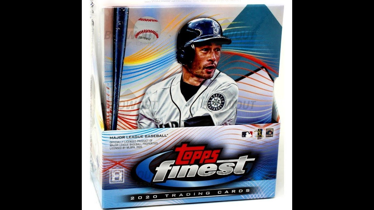2020 3 Box Topps Finest Ebay Break + Website Fun without Wicked
