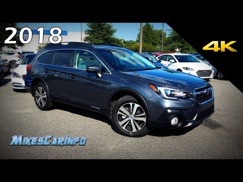 2018 Subaru Outback Limited - Detailed Look In 4K