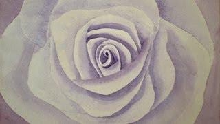 Cómo pintar una rosa con acuarela - Arte Divierte.