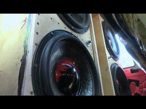 Ford escort 4 Dragster Audio DWY 15 Финал ЕММА Украина 2015 г.Харьков 12-13.09.2015