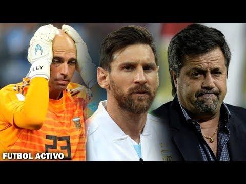 CARUSO DESTROZÓ a MESSI | ¡ARGENTINA con CHANCES! | ¿ARMANI x CABALLERO? thumbnail