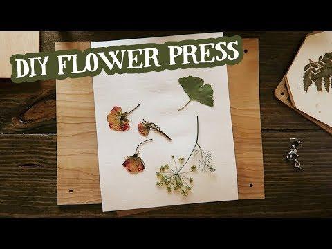 Diy Extra Large Flower Press Youtube