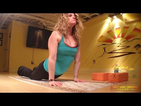 """Road Home Yoga.com - Aimee DeRoehn- """"Syncing your yoga with REAL life."""