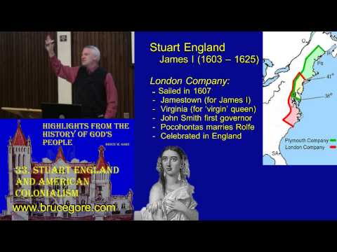 33. Stuart England and the American Colonial Experiment