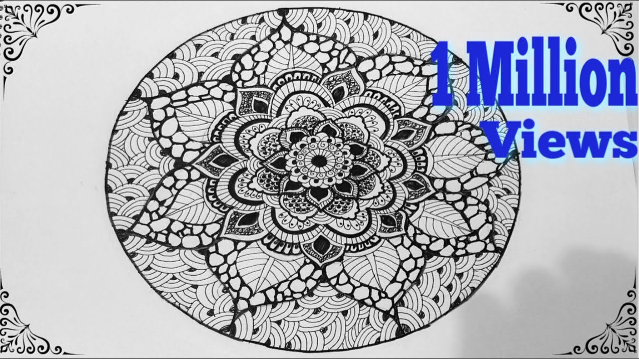 Mandala Design Art Lesson
