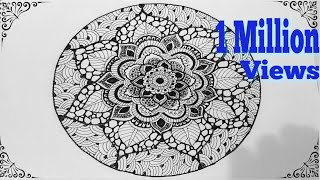 ✽HOW TO DRAW -MANDALA ART✽