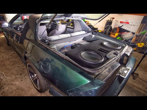 Third Gen Camaro Project | Subs And Amp Install | Episode 16