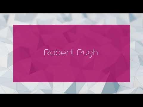 Robert Pugh - appearance