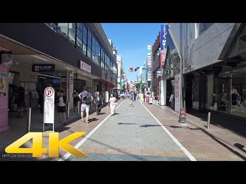 Walking around Jiyugaoka, Tokyo - Long Take【東京・自由が丘】 4K