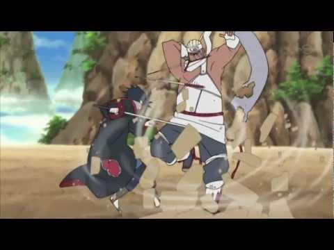 Sasuke Vs Killer Bee AMV (Break 3 Days Grace)