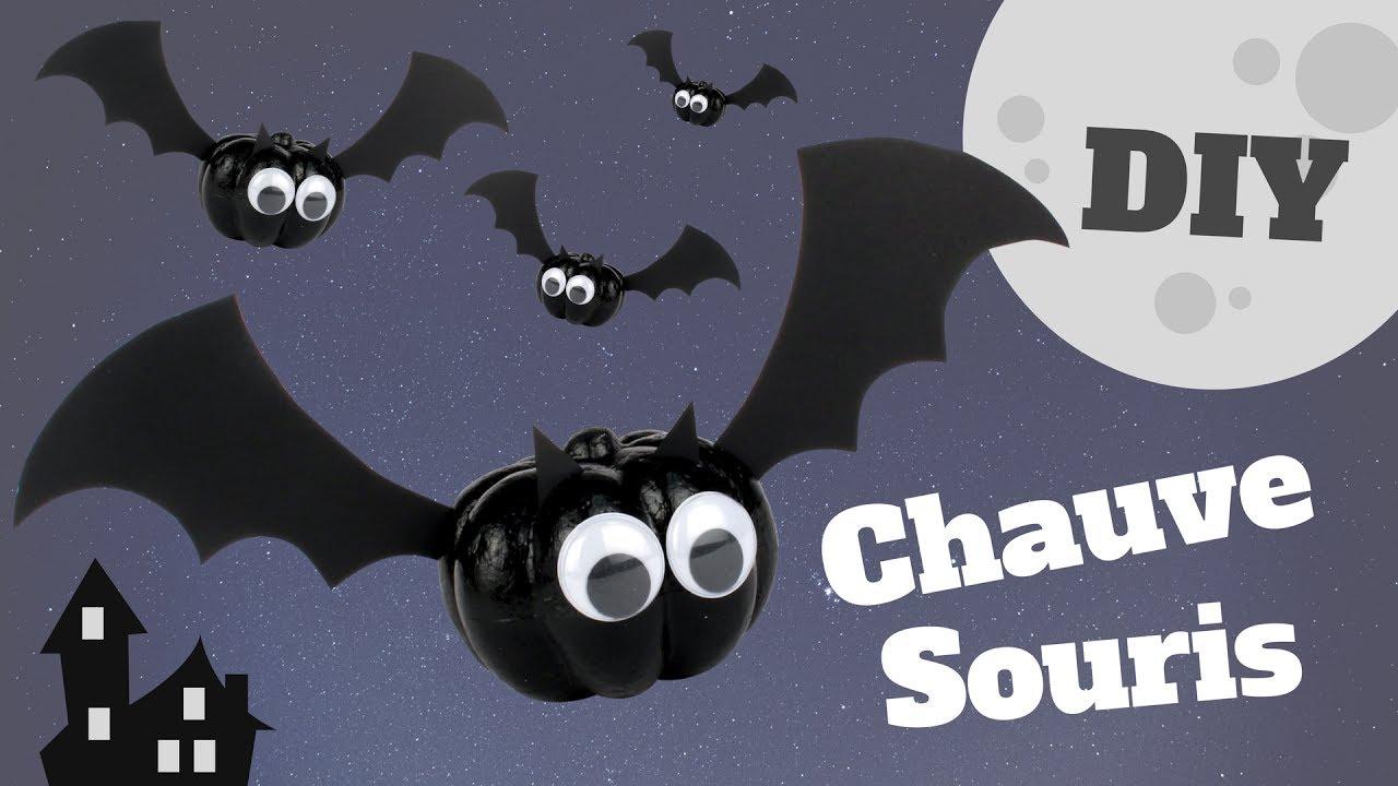 tuto diy halloween fabrique une chauve souris. Black Bedroom Furniture Sets. Home Design Ideas
