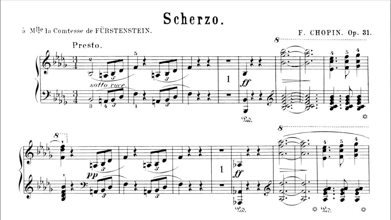 Chopin Scherzo No.2 Follow with Score (take 4) P. Barton, FEURICH piano