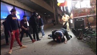 Huge brawl at Bay Ridge Halal Cart w/ Commentary (IG Version)