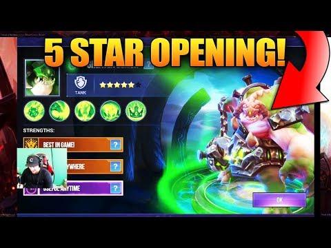 Dungeon Hunter Champions 5 Star Premium Pack Opening