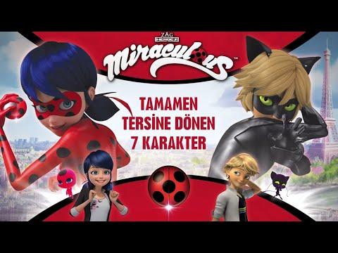 Mucize: Uğur Böceği ile Kara Kedi I Tamamen Tersine Dönen 7 Karakter 🙃 I Disney
