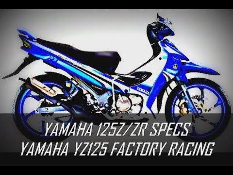 125Z/ZR COPY SPECS YZ125 FACTORY RACING