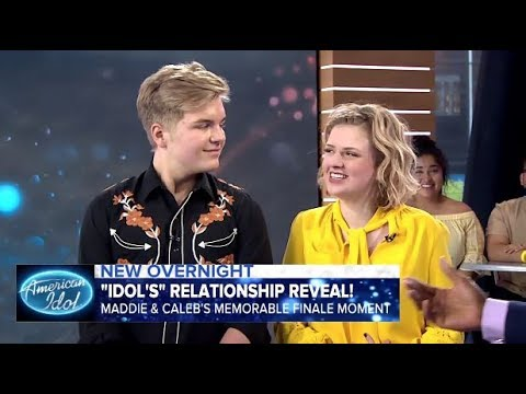 caleb and maddie dating on american idol