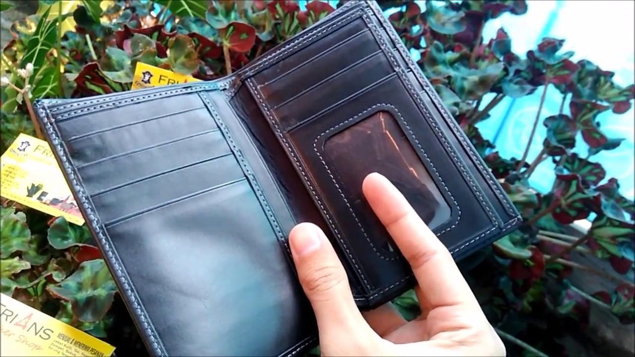 Dompet Kulit Sapi 3 4 Premium 100 Asli Produk Frians Pria Dimensi Garut Leather