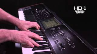 The New Korg Kronos: Video Manual Part 2 - Programs, Combinations and Set List