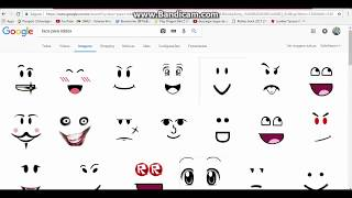 method of how to have face free in roblox (does)