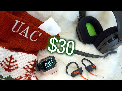 Best Tech Gifts Under $30 (Stocking Stuffers 2018!)