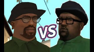 CJ vs Big Smoke - Who will win?  End Of The Line - Riots mission 3 - GTA San Andreas