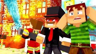 UNSER HAUS BRENNT AB!? - Minecraft ALLTAG